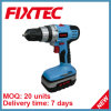 Fixtec 18V Battery Ni-CD Cordless Drill Driver avec l'éclairage LED