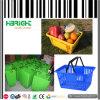 Cesta de compra Stackable do supermercado dos PP do Virgin