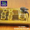 76 de nieuwe Gift van het Theekopje van het Glas van de Stijl met Infuser L6-C560