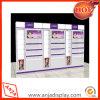 Soporte de visualización cosmético de la cabina del maquillaje del MDF
