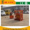Petite machine creuse concrète de bloc de pression hydraulique/de effectuer brique de machine à paver