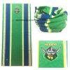 Match de football personnalisé d'impression de logo encourageant le réchauffeur vert d'écharpe de cou