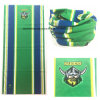 Impression de logo personnalisé Football Match Cheering Green Neck Scarf Warmer