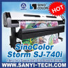 1.8m Eco Solvent Digital Printer, Sinocolor Sj740, para Epson Dx7 Head, 2880dpi