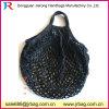 Kleine MOQ Wholesal schwarze Baumwollnetz-Ineinander greifen-Einkaufstasche