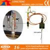 Infiammazione elettrica usata macchina per il taglio di metalli di CNC, unità dell'infiammazione