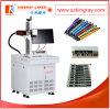 Машина маркировки лазера волокна для изготовленный на заказ логоса