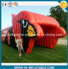 Sale를 위한 주문을 받아서 만들어진 Large Sport Event Use Inflatable Mascot/Bird Tunnel