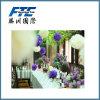 O partido fornece a flor de papel de suspensão de tecido da decoração