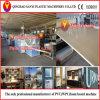 Machine en plastique de panneau de mousse d'Extruder/PVC