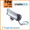 72W Dual Rows LED Car Light Bar