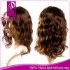 peluca de oro perfecto 100 % del cordón del pelo humano ( gp- L104 )