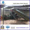 Waste automatico Paper Cardboard Baler con Conveyor