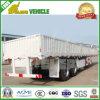 60 van het Nut van de Vrachtwagen ton van de Aanhangwagen van de Zijgevel met 3 Assen Fuwa