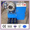 세륨 Finn 힘 Techmaflex Uniflex 1/4  ~2  유압 호스 주름을 잡는 기계