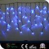 Fonkelen Blauwe leiden van de Decoratie van Kerstmis het Licht van de Ijskegel