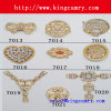 모조 다이아몬드 단화는 단화 부속 금속 버클 단화 이음쇠를 자른다