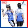 Kundenspezifisches sublimiertes Mädchen-Fahrrad-Hemd