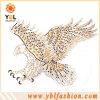 Transferência do motivo do Rhinestone de Hotfix do projeto da águia na roupa