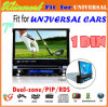 7  отделяемый 1 DIN Car GPS DVD с USB SD DVD TV Bluetooth Radio Dh7088 (DH7088)