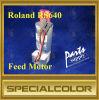 Alimentação do motor para impressora Roland RS640