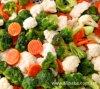 Vegetais misturados congelados IQF chineses com bom preço