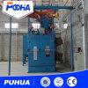 Doppelte Aufhängungs-hakenförmige Granaliengebläse-Maschine für das Reinigungs-Polnisch