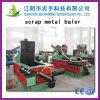 Tipo hidráulico automático completo a nosotros para el desecho, descarga de aluminio de la exportación de la prensa del metal del séquito del desecho