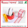 cinta auta-adhesivo superior de 48mic BOPP con insignia