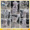 De in het groot Gravures van de Steen van de Beeldhouwwerken van de Engel en van de Cherubijn