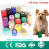 Bandage cohésif d'animal familier flexible de Vetrap