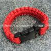 Bracelet Emergency campant à l'extérieur de Paracord de survie