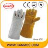 Натуральной кожи Сварка промышленной безопасности Рабочие перчатки (11120)