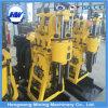 Type matériel Drilling de remorque de deux roues de puits d'eau de Hwg-190