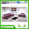 Bello sofà di cuoio dell'interno sezionale impostato (OF-47)