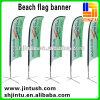 Stampa esterna su ordinazione della piuma del poliestere 2015 che fa pubblicità alle esposizioni della bandierina della bandiera