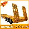 Semi Aanhangwagen van Lowbed van de Straal van Chhgc 3axle de Rechte met Gooesneck