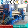 Ponto! Mclw11s-20X2500 em uma máquina de dobra inteiramente hidráulica da placa do CNC, máquina de rolamento da placa 3-Roller