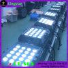 a PARIDADE impermeável de 20X12W RGBW 4in1 pode luz do diodo emissor de luz para o estágio