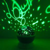 Nightlight romântico do diodo emissor de luz da rotação Starrynight da projeção nova creativa de Momo