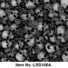 Modelo líquido Hydrographics No. Lrs106A del cráneo de la película de la impresión de la transferencia del agua de la imagen
