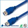 Cabo do USB 3.0 um macho a um cabo de extensão masculino do cabo