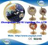 Hete Yaye 18 verkoopt de Bol van /Gemstone van de Bol van de Wereld/Engelse Bol met de Kaart van de Wereld & Alle Landen van de Wereld