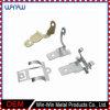 Metal de aluminio de las piezas de precisión pequeño que estampa los clips encubiertos del panel