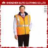 do inverno reflexivo do Workwear de 3m revestimentos Sleeveless do trabalho para homens