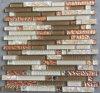 Стеклянное смешивание Horzion мозаики с камнем Jy06k