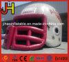 Casco gonfiabile personalizzato del giocatore, casco gonfiabile di football americano