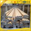 Profil en aluminium ovale d'extrusion d'usine de Zhonglian de 6000 séries