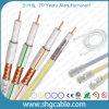 Qualité 75 ohms de câble coaxial de liaison Dg113 de TV satellite