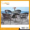 Mobília ajustada de jantar ao ar livre do Rattan da boa qualidade de preço de fábrica